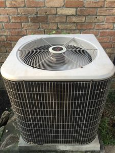 air conditioner outside home in deer park